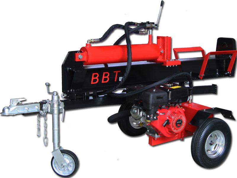 BBT 40 ton petrol splitter in horizontal mode
