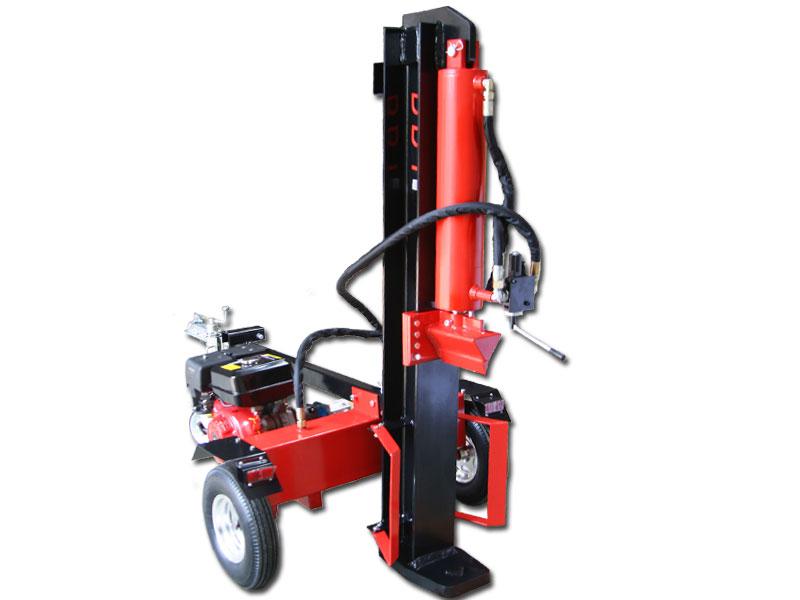 BBT 40 ton petrol splitter in vertical mode