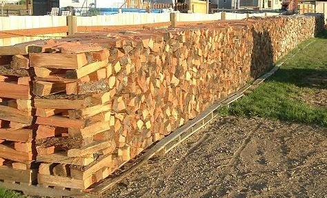 Conventional western woodpile. Pic thanks to Highbeam from Hearth.com